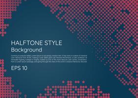 Halftone moderne achtergrond minimale stijl met ruimte voor uw tekst