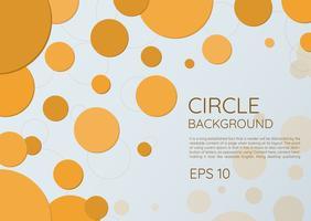 Cirkel moderne ronde stijl als achtergrond