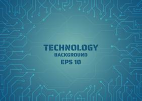 technologie digitale lijn die frame creëert