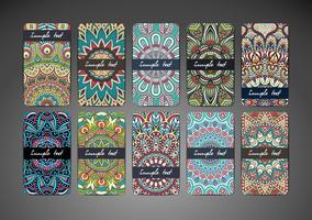Set van visitekaartjes