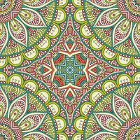 Naadloos patroon in etnische stijl. Vintage decoratieve elementen.