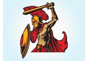 Spartaanse strijder