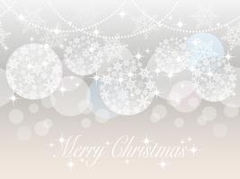 Naadloze abstracte achtergrond met Kerstmisbalornamenten. vector