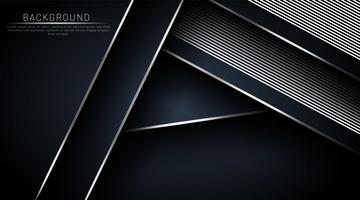 Donkerblauwe achtergrond die overlapt met een lijn