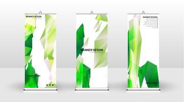 Verticale banner sjabloonontwerp vector
