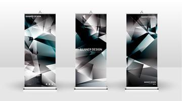 Verticale banner vector