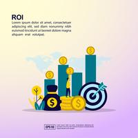 Rendement op investeringswebpagina