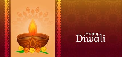 Gelukkig Diwali klassiek ontwerp