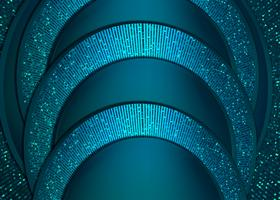 blauw papier gesneden achtergrond abstract