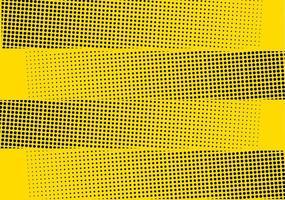 Gele halftone gestippelde strepen