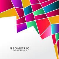 Creatieve abstracte kleurrijke veelhoekige achtergrond