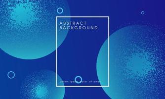 Blauwe abstracte gloeiende deeltjes ontwerp achtergrond
