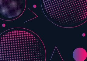 Moderne geometrische abstracte vormen