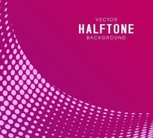 Leuke minimale roze abstracte halftone