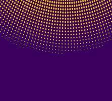 Gouden halftoon met paars