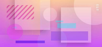 Transparante vorm abstracte achtergrond