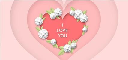Love Heart Achtergrond
