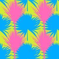 Naadloos tropisch patroon. Zomer exotische planten sieraad.