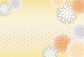 Japans Nieuwjaarsjabloon. vector