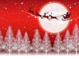 Naadloze Kerst achtergrond vector
