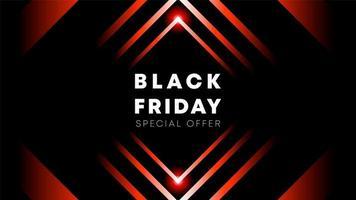 Black Friday-behangontwerp