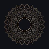 Decoratief mandala-ontwerp vector