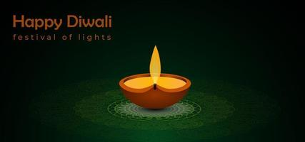 Abstracte diwali festival achtergrond