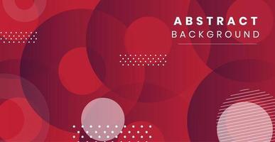 Dynamische stijl abstracte banner