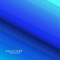 Blauwe achtergrond met kleurovergang halftoon