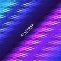 Abstracte kleurrijke gradiënt halftone patroonachtergrond