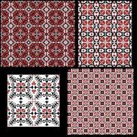 Hongaarse pixel patroon ingesteld