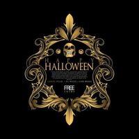 halloween luxe feest