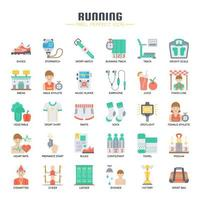 Running Elements, Thin Line en Pixel Perfect Icons