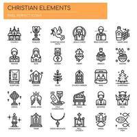 Christian Elements, Thin Line en Pixel Perfect Icons