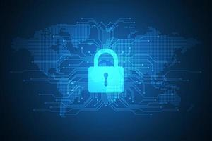 Tech lock op digitale wereldkaartweergave