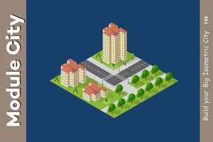 Voor stadsplattegronden vector