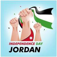 Jordan Onafhankelijkheidsdag vector