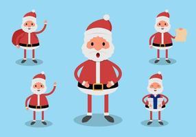 Santa Claus tekenset vector