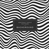 Vervormd zwart-wit textuurpatroon