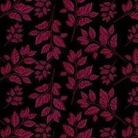 Rood bloemenpatroon