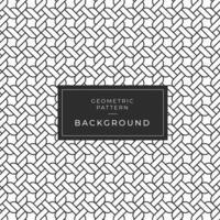 Abstract geometrisch zwart-wit kabelpatroon