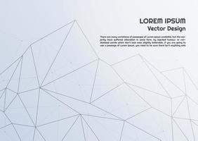 Abstracte veelhoek lijnen achtergrond