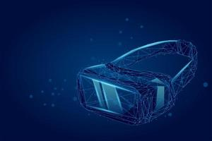VR-bril holografische projectie virtual reality-bril