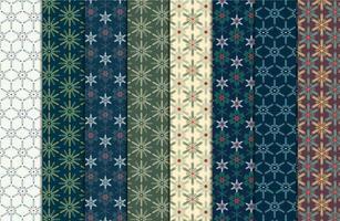 Vintage Kerst naadloze patroon vector