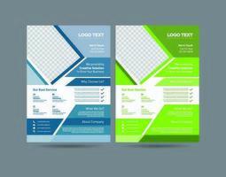 Moderne zakelijke folders