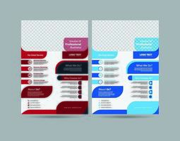 Multifunctionele zakelijke sjabloon folder