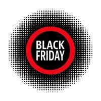 Zwarte vrijdag stempel vector
