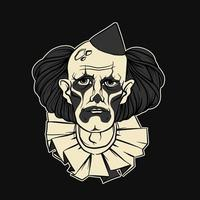 Droevige Clown Halloween