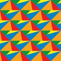 Kleurrijk geometrisch vormen 3d patroon