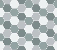 Veelkleurige zeshoek geometrische naadloze achtergrond. vector
